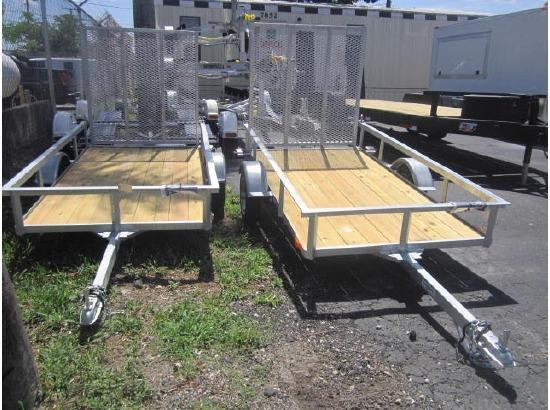 Galvanized Continental Utility Trailers