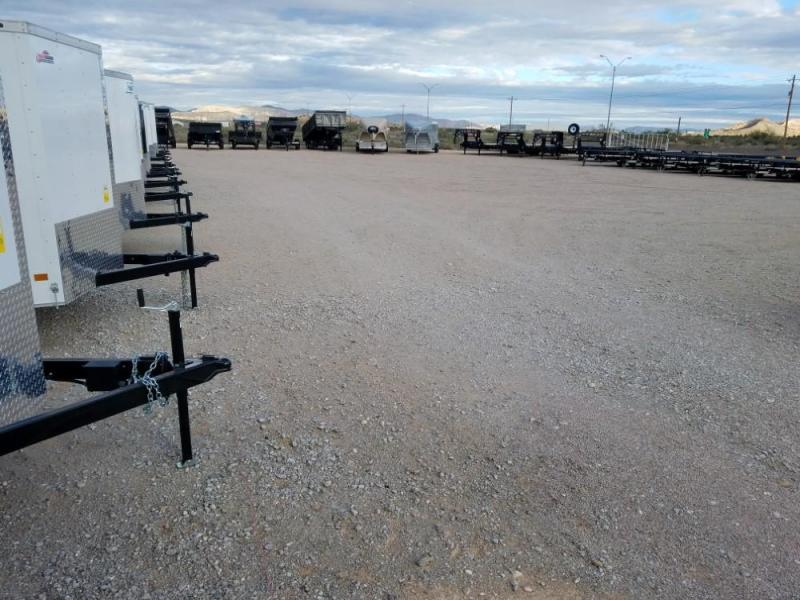 6 X 12 ENCLOSED/CARGO TRAILER @ Red Barn Trailers