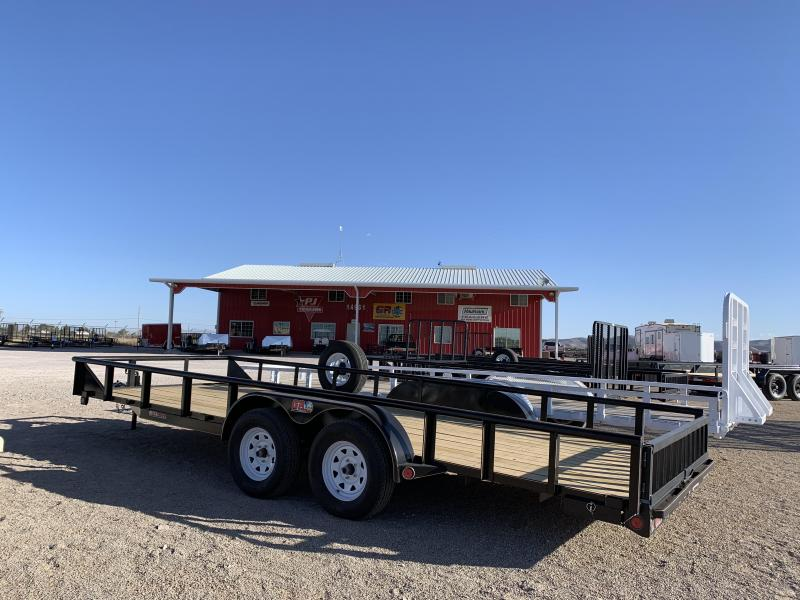 7 X 22 2019 Lamar Trailers H6832227 Equipment Trailer