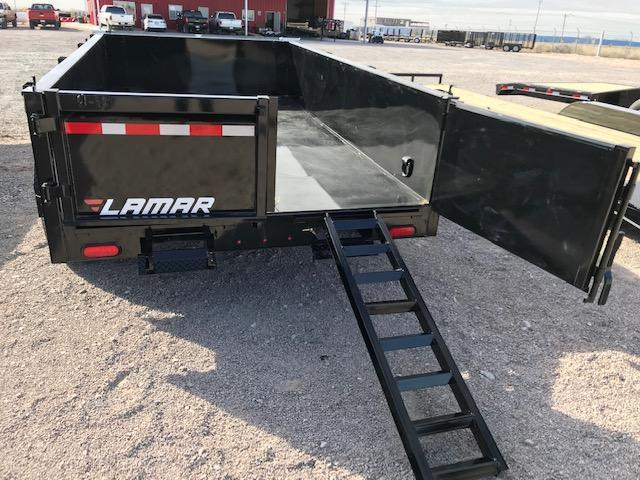77x12 2019 Lamar Trailers Medium Dump (DM) 10K Dump Trailer @ Red Barn Trailers