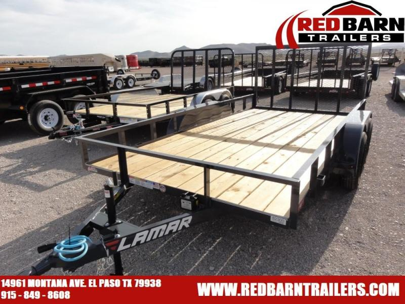 83 X 14 2019 Lamar Trailers UT83 Utility Trailer @RED BARN TRAILERS