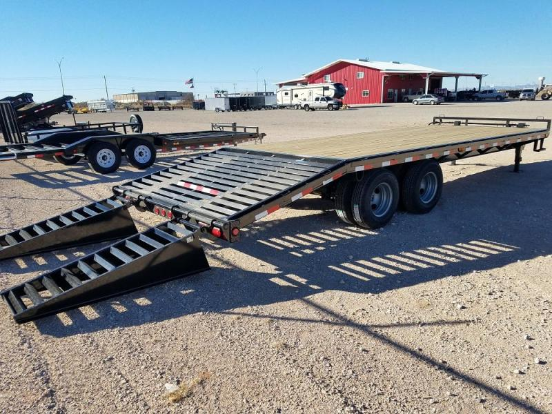 25' Clasic Pintle with Duals - MONTER RAMPS @ Red Barn Trailers