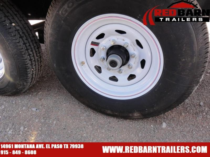 96 X 24 2020 PJ Trailers F8242 Flatbed Trailer @RED BARN TRAILERS