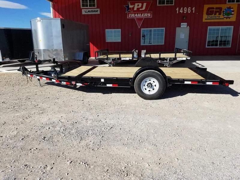 16' Single Axle HD Tilt (T1) @ Red Barn Trailers