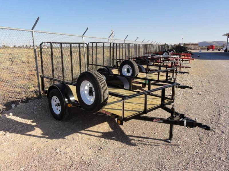 5 x 10 Single Axle Utility - Ramp Gate @ Red Barn Trailers