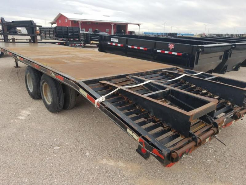 27FT 2006 Texas Bragg Trailers FLATDECK @ RED BARN TRAILERS