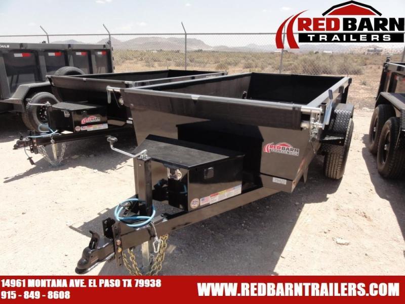 60 X 10 Mini Dump Trailer (DS) @ RED BARN TRAILERS