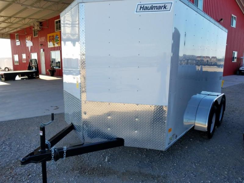 7 X 12 ENCLOSED/CARGO TRAILER @ Red Barn Trailers