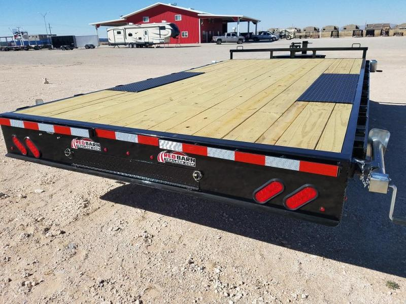 102 X 16 Deck-Over Flatbed (F8) @ Red Barn Trailers