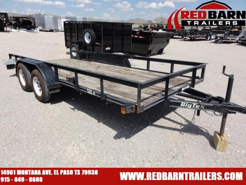 2006 Big Tex Trailers 7X16 Utility Trailer