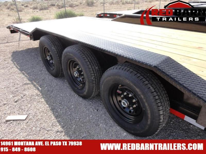 102 X 38 020 Lamar Trailers H8022 Equipment Trailer @RED BARN TRAILERS