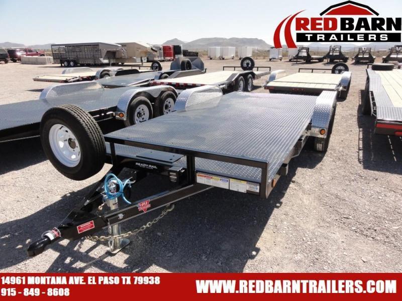 83 X 18 PJ STEEL DECK CARHAULER @RED BARN TRAILERS
