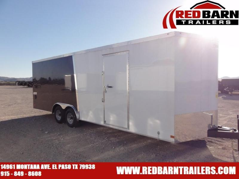 8.5 X 24 2019 Haulmark TSV8524T3 Enclosed Cargo Trailer @RED BARN TRAILERS