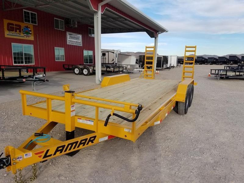 2019 7X16 PJ Trailers Single Axle HD Tilt (T1) Equipment Trailer @RedBarnTrailers