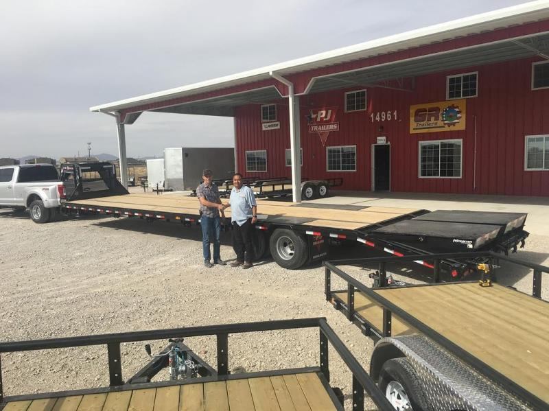"GOOSENECK 83"" X 22' Extreme Duty Utility Trailer (U6) @ Red Barn Trailers"