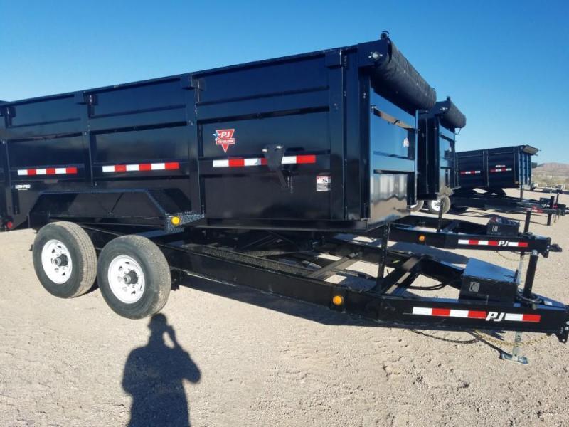 83 X 14 Low Pro High Side Dump (DM) Dump Trailer