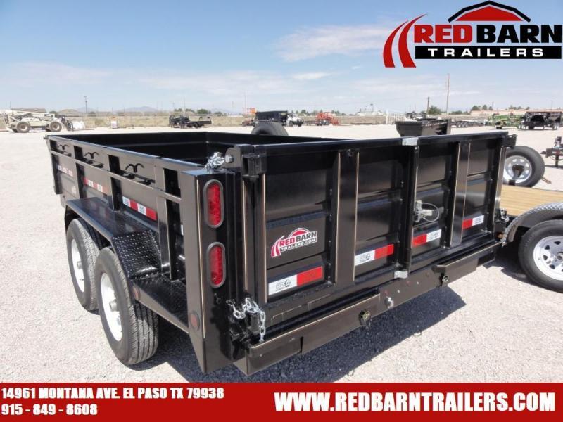 7 X 14 2019 GR Trailers DT7014SR14L Dump Trailer