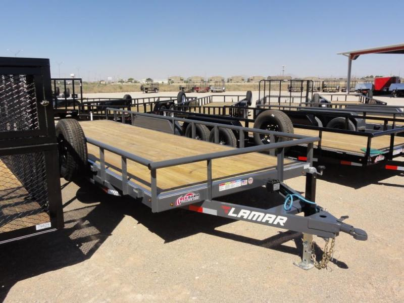 83 X 22 LAMAR 10K HEAVY DUTY UTILITY @RED BARN TRAILERS