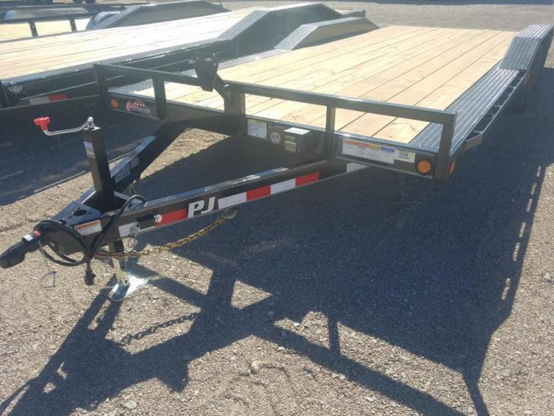 "102"" X 20' PJ Channel Buggy Hauler (B5) @ Red Barn Trailers"
