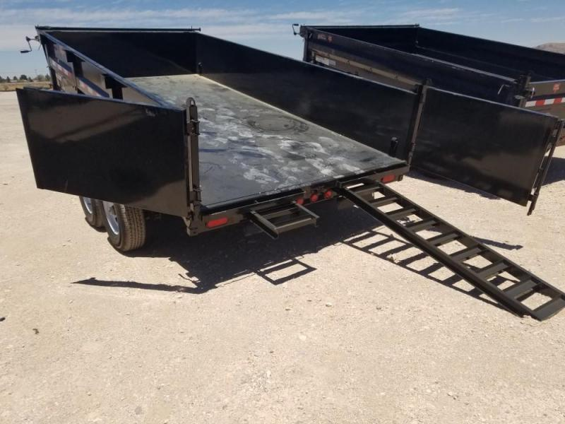 83 X 14 DUMP TRAILER (D7) @ Red Barn Trailers