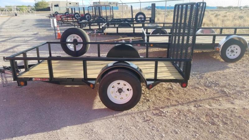 5 x 10 Single Axle Utility - Ramp Gate @ Red Barn Trailers