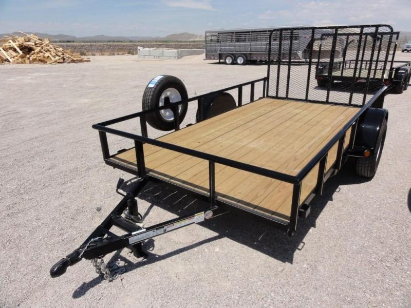 6.5 x 12 Single Axle Utility - Ramp Gate @ Red Barn Trailers
