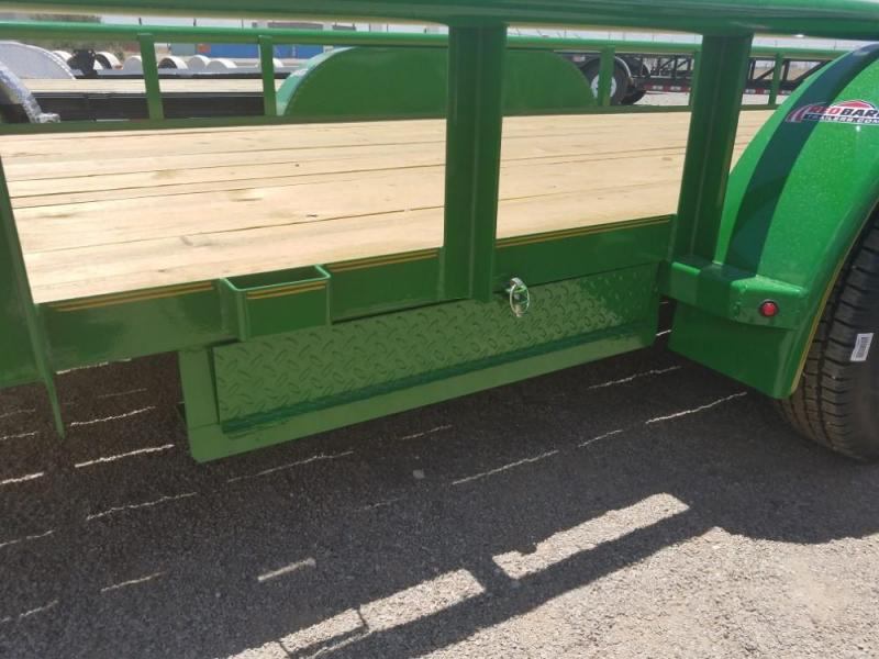 """83"""" X 20' CLASSIC UTILITY 7K 2X3 ANGLE FRAME @ Red Barn Trailers"""