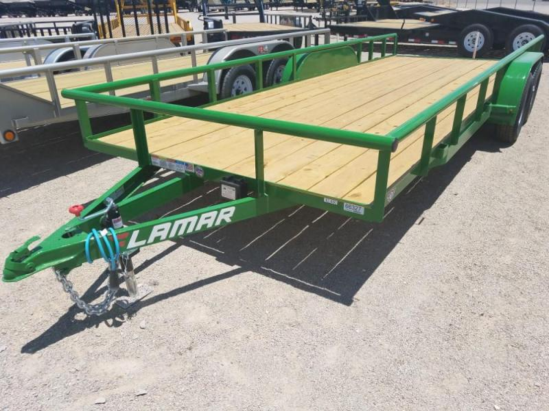 "83"" X 20' CLASSIC UTILITY 7K 2X3 ANGLE FRAME @ Red Barn Trailers"