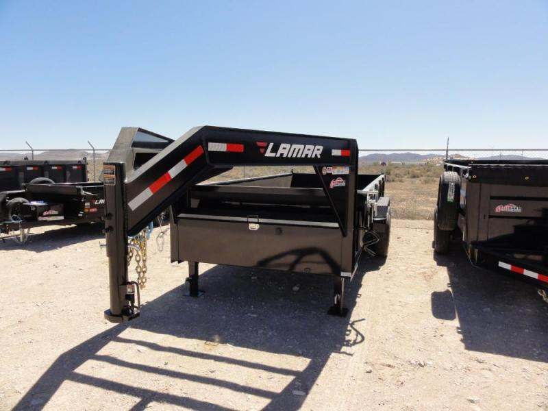 83 X 16 2019 Lamar Trailers LOW-PRO DUMP Dump Trailer @RED BARN TRAILERS