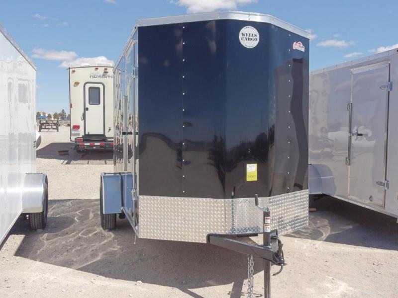 2019 Wells Cargo FT610S2-D Enclosed Cargo Trailer