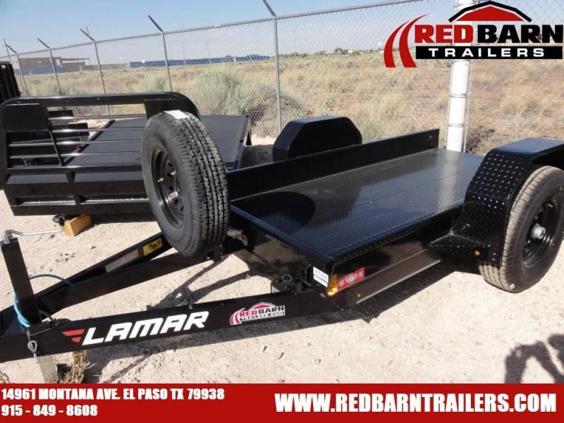 59 X 10 2019 Lamar Trailers SH59 Equipment Trailer @RED BARN TRAILERS