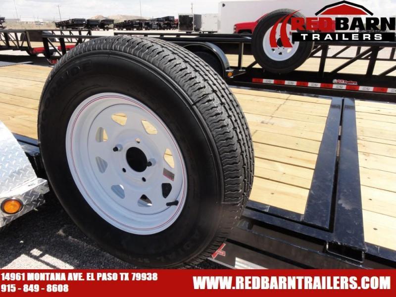 7 x 18 2020 PJ Trailers T5 Equipment Trailer @RED BARN TRAILERS