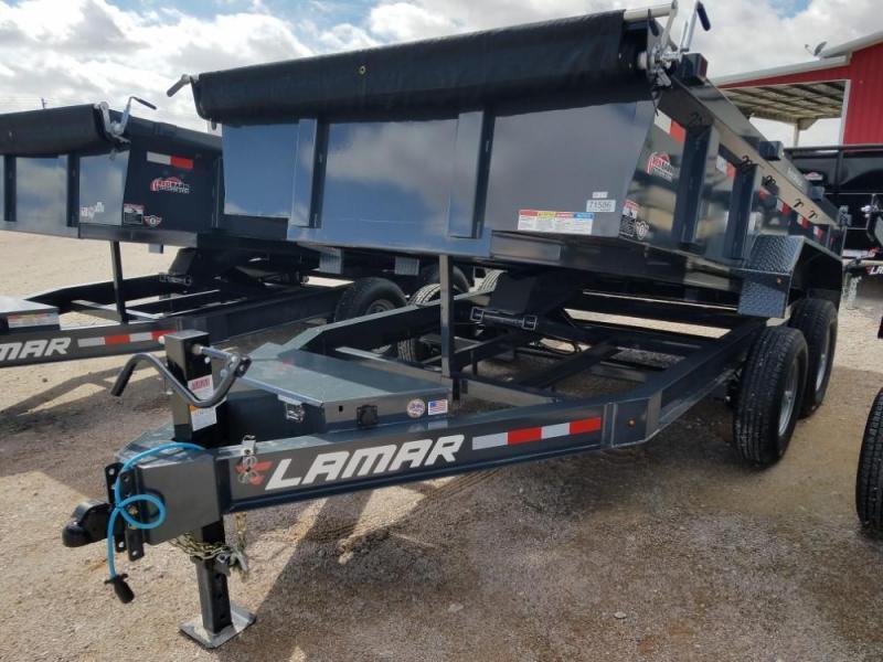 83 X 14 Low-Pro Dump Trailer (DL) @ RED BARN TRAILERS