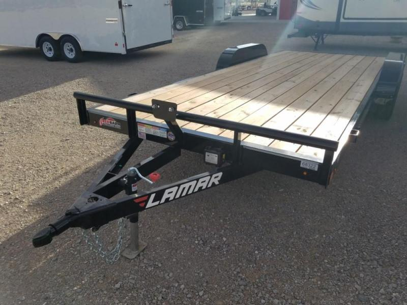 "83"" X 20 Lamar Econo Car Hauler (CE) @ Red Barn Trailers"