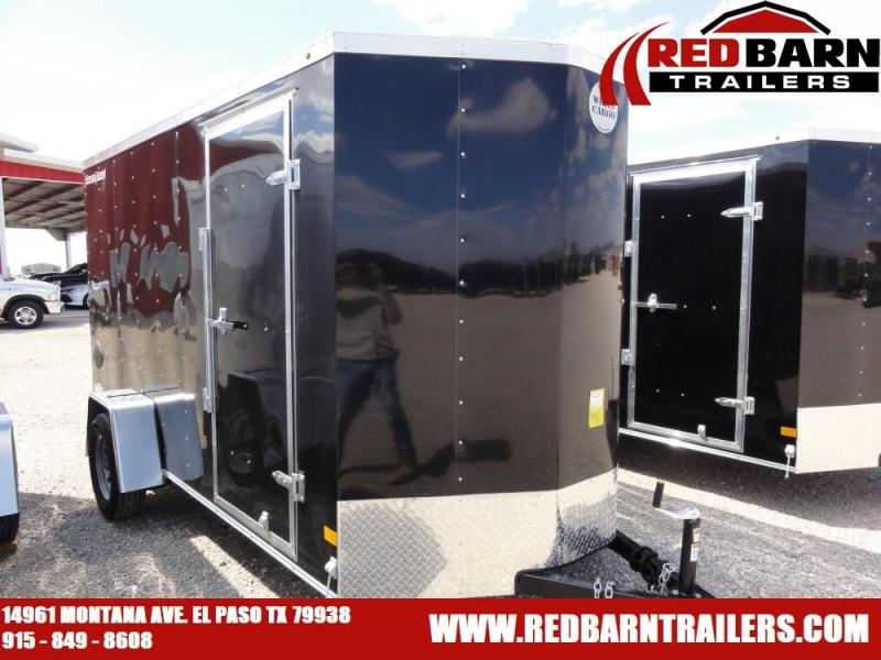 6 X 12 2019 Wells Cargo FT612 Enclosed Cargo Trailer @RED BARN TRAILERS