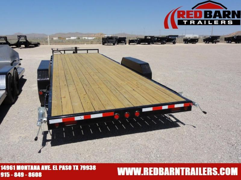 83 X 24 2020 PJ Trailers CC242 Flatbed Trailer @RED BARN TRAILERS
