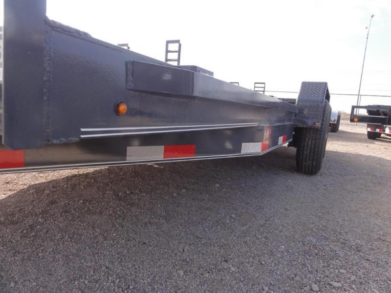 7 X 18 2019 Lamar Trailers Equipment Hauler (H6) 14K-16K Car / Racing Trailer @RED BARN TRAILERS