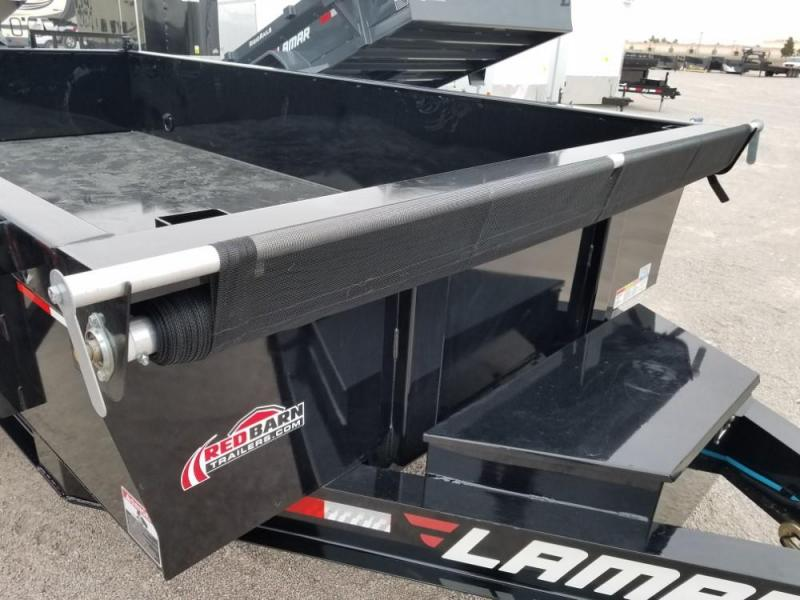83 X 14 Low-Pro Dump Trailer (DL) @ RED BARN TRAILERS