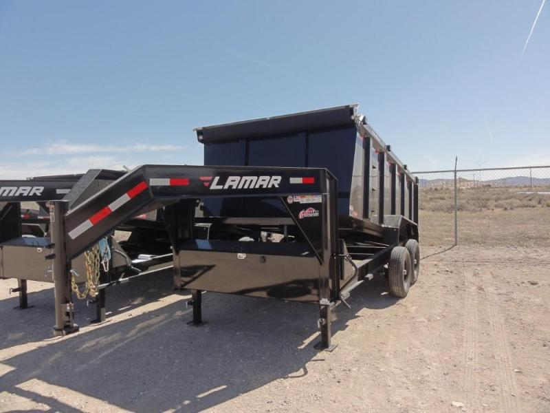 83 X 14 2019 Lamar Trailers Low-Pro Dump (DL) 14K-21K Dump Trailer