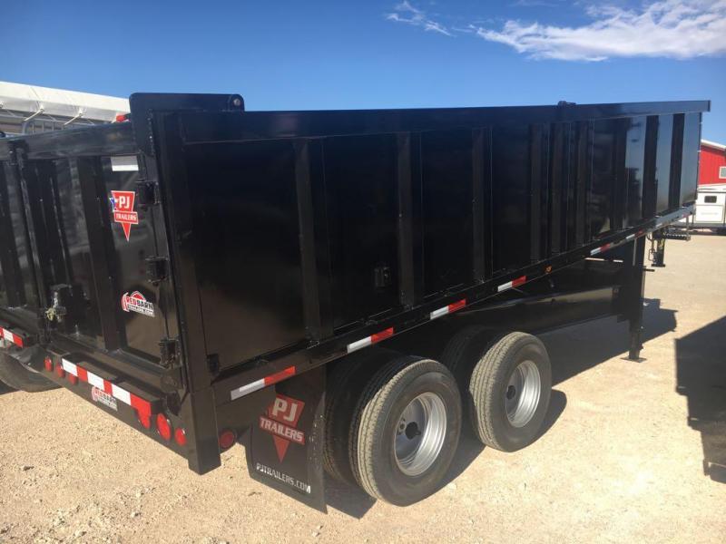 """96"""" X 18' Tandem Dual Dump (DD) @ Red Barn Trailers"""