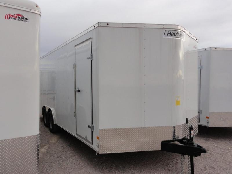 8.5 X 20 2019 Haulmark Passport 8.5 Wide Enclosed Cargo Trailer @RED BARN TRAILERS