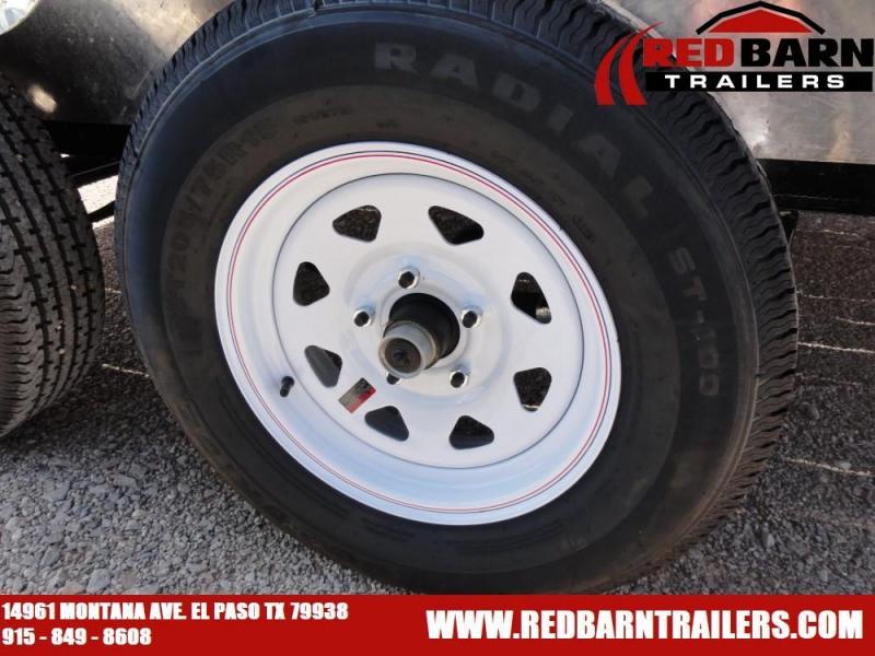 7 x 12 2020 PJ Trailers UL122 Utility Trailer @RED BARN TRAILERS