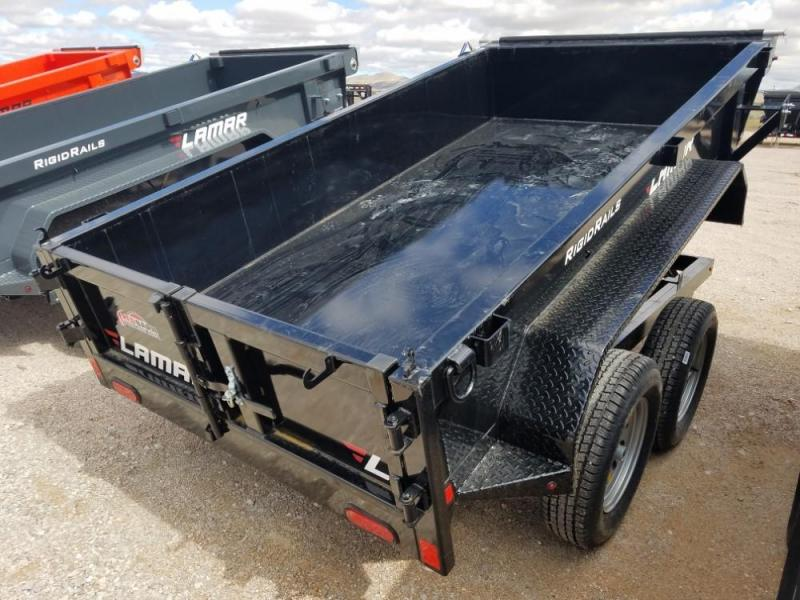 60 X 10 Mini Dump Trailer (DS) @ RED BARN TRAILERS