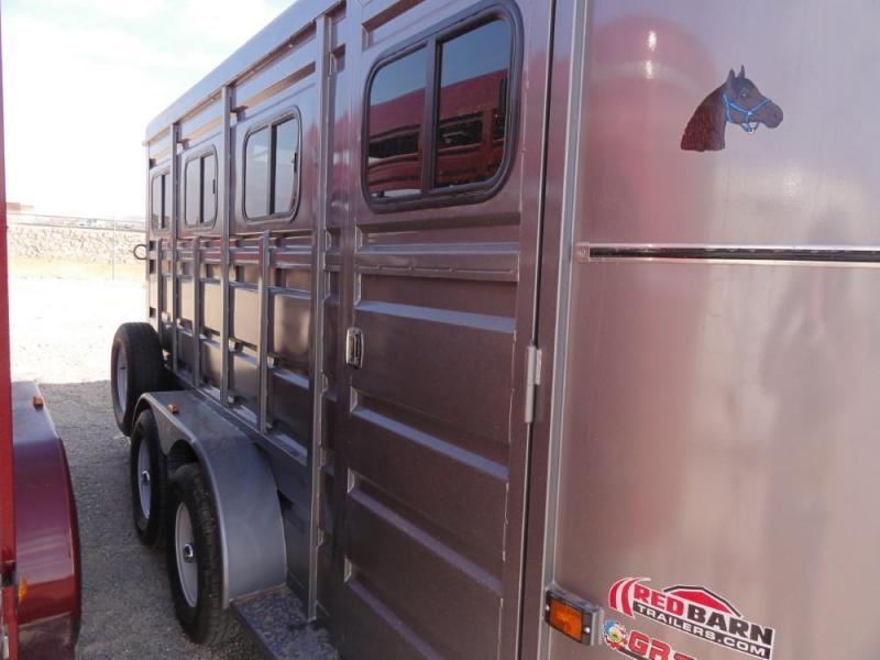 6'8 X 16 2019 GR Trailers BUMPER PULL HORSE TRAILER Livestock Trailer