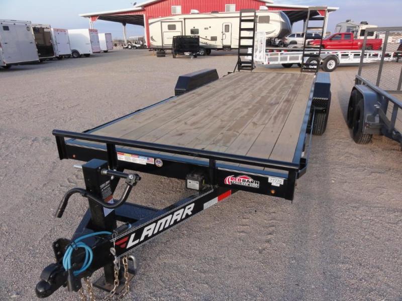7 X 20 2019  Lamar Trailers Equipment Hauler (H6) 14K-16K Car / Racing Trailer @RED BARN TRAILERS