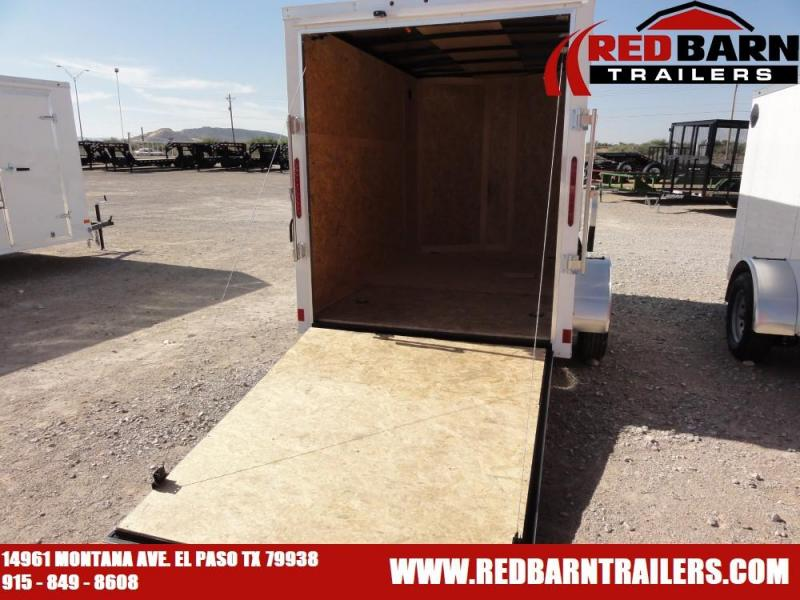 6 X 10 2019 Haulmark PP610S2-D Enclosed Cargo Trailer @RED BARN TRAILERS