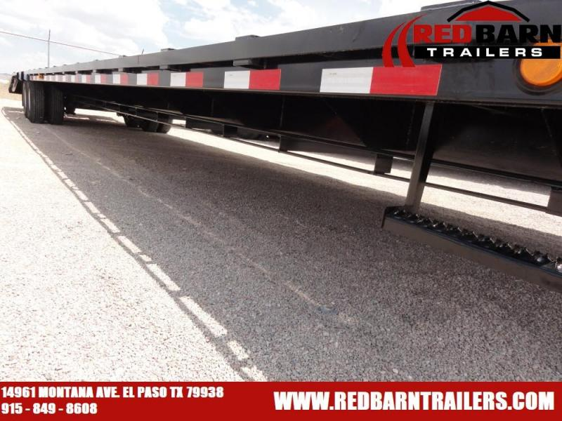 102 X 40 2020 PJ Trailers LD402 Flatbed Trailer @RED BARN TRAILERS