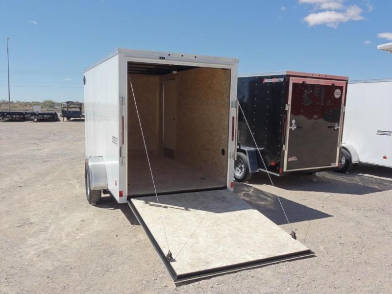 6 X 12 Enclosed Cargo Trailer