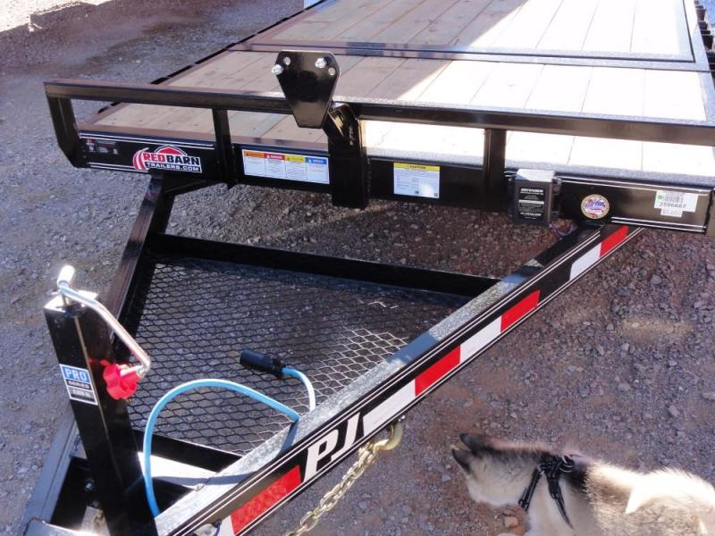 "83 X 20 6"" Channel Super-Wide Tilt (TS) Car / Racing Trailer @ Red Barn Trailers"