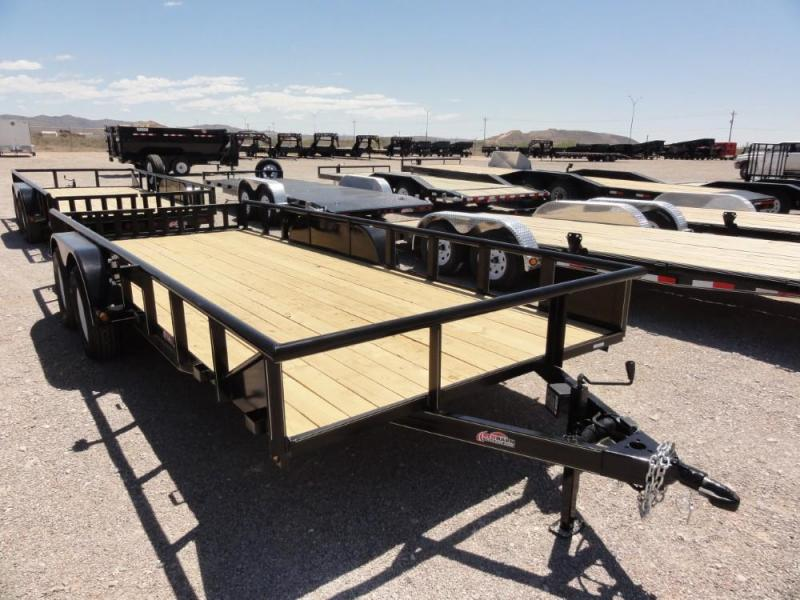 7 x 18 GR Utility Trailer @ Red Barn Trailers